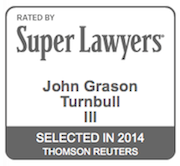 Super Lawyers Logo for John Turnbull