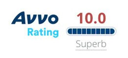 Avvo Rating 10.0 Superb Top Attorney Workers Compensation